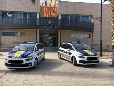 COCHES POLICIALES CANET DE'N BERENGUER