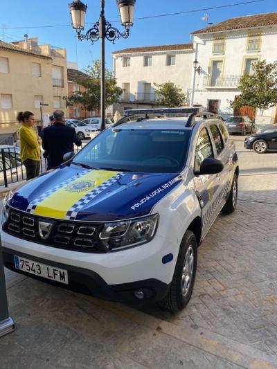 duster policia local bolbaite