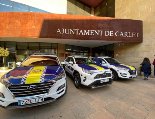 Carlet estrena nuevos vehículos policiales.
