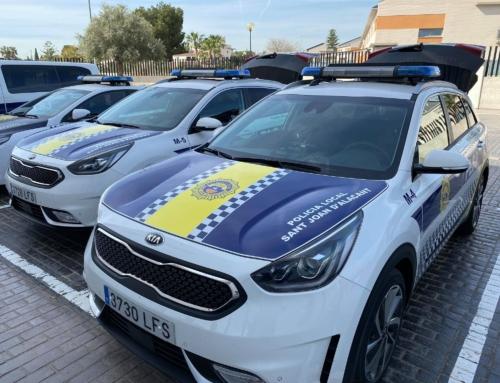 policia local de San juan de alicante está de estreno