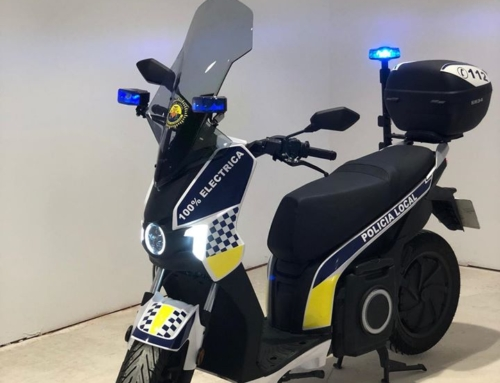 moto electrica para policia local